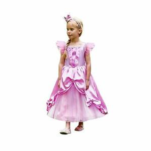 AMSCAN FAIRY PRINCESS WITH CROWN FANCY DRESS COSTUME 6 - 8 WORLD BOOK DAY