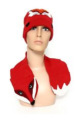 Kate Spade New York Fox Wool Kids Scarf (Fairy Tale Red) 5046 One Size