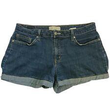 Gather Jeans Dark Wash stretch Jean Shorts SZ 1XL