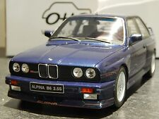 "1/18 OTTO BMW E30 M3 ALPINA B6 3.5 S  OT141 ""BLUE"" RARE MODEL CAR"
