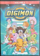 Digimon: Digital Monsters - The Offical First Season Vol. 3 (DVD, 2013) Tested