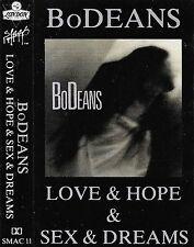 BO DEANS LOVE & HOPE CASSETTE 11 TRACK ALBUM POP ROCK SLASH LONDON RECORDS debut