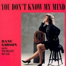 1 CENT CD You Don't Know My Mind - Banu Gibson