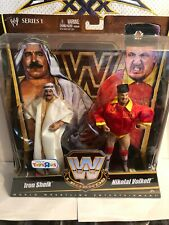 WWE LEGENDS Series 1 - Tag Team Pack - Iron Sheik & Nikolai Volkoff - NEW