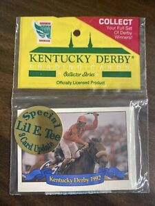 1992 KENTUCKY DERBY CARDS Unopened Pack - HORSE STAR Cards - NEW! RARE!