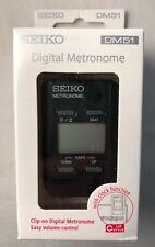 Seiko Metronome (Dm51B) Black