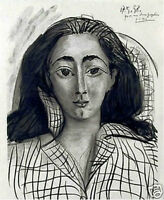 "PABLO PICASSO SIGNED ORIGINAL LITHOGRAPH ""Jacqueline"" EXCLUSIVE Picasso Rare Art"
