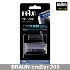 BRAUN 20S 2000 Series CruZer Foil And Cutter Replacement (With Tracking Number)
