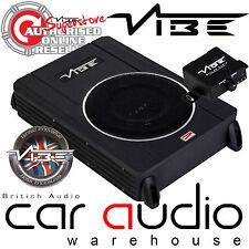 Vibe CVENC8-V4 8 Inch 240 Watts Active Slim Car Van Under Seat Sub Subwoofer