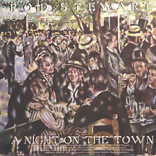 ROD STEWART A Night On The Town FR Press Warner 56 234 1976 LP