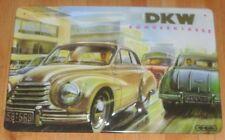 DKW SONDERKLASSE, BLECHSCHILD AUTO - UNION