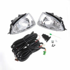 Fit 2004-2005 Honda Civic 4 Door Clear Fog Lights Driving Bumper Lamp+Switch
