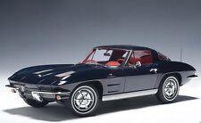 71181 AUTOart 1:18 Chevrolet Corvette Coupe 1963 Blue