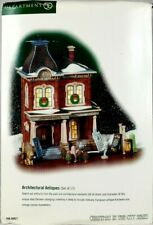 Department 56 Christmas In The City Architectural Antiques 58927