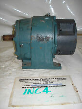 Dodge inline gear reducer 56DM16A, 25.6:1 ratio, 143TC, 145TC, 56C, foot mount