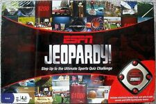 ESPN Jeopardy Step Up The Ulimate Sports Quiz Challenge NIB Sealed
