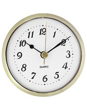 3-1/2'' Quartz Clock Insert with Arabic Numerals #453