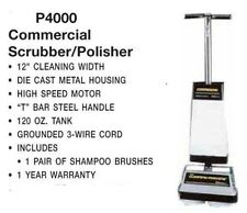 Commercial Floor Tile Grout Scrubber Buffer Cleaner Polisher Carpet Shampooer