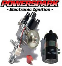 Powerspark Electronic Ignition Distributor + Powerspark Coil replaces 25D & 45D