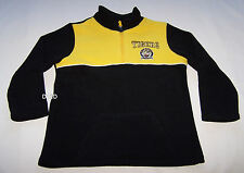 Richmond Tigers AFL Boys Yellow Black Polar Fleece Top Jumper Size 4 New