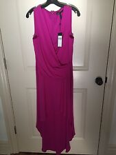 "Women's BCBG Maxazria magenta ""Abey"" dress size 8"