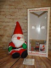 Vintage & Rare Telco Motionette Animated Santa Plush Stuffed Moves Christmas