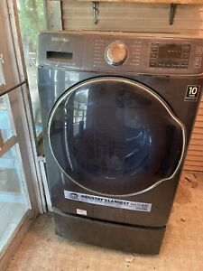 Samsung Front Load Washer 5.6 cu. ft. largest capacity in industry modelWF56H910