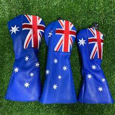 Heritage Australian Flag HeadCover Set