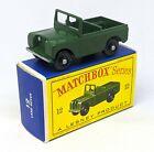 Matchbox Lesney No. 12b Land Rover Series II BPW (STANNARD CODE 3)