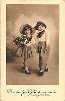 BG4607 geburtstag birthday boy and girl children germany  greetings