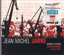 JEAN MICHEL JARRE - KONCERT W STOCZNI LIVE FROM GDANSK SIERPIEN 2005 RARE CD