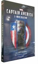 Captain America 1-3 DVD UK Release Region 2