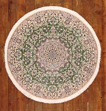 Alfombras persas color principal verde para pasillos