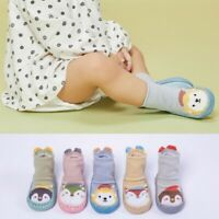 Toddler Cartoon Anti-slip Floor Shoe-socks  For 0-18 Month Baby Boys Girls