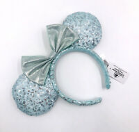 Frozen Arendelle Aqua Blue Disney Parks 2020 Minnie Ears Edition Headband