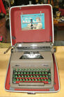 Vtg+1950s+Working+Royal+Portable+Typewriter+%2F+Quiet+De+Luxe+with+Case+%26+Manual+