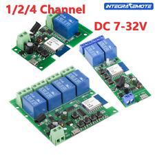 1/2/4 Channel Wireless Wifi Relay Module PhoneAPP Wireless Remote Control Switch