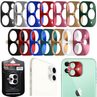 Metal Back Camera Lens Case Cover Screen Protector for Apple iPhone 11 Pro Max