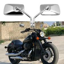 Motorcycle Rectangle Mirrors for Honda Shadow ACE Aero Spirit RS VT 750 1100 FO