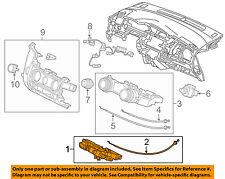 HONDA OEM 15-17 Fit-Ac Switch 79580T5RA01ZA