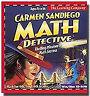 Carmen Sandiego MATH DETECTIVE Educational PC/Mac Game For Age 8-14 - NEW CDrom