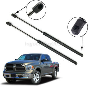 US 2xFront Hood Gas Lift Support Struts Spring Shock For Dodge Ram1500 2500 3500