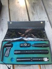 SENNHEISER ME-80 K3-U Shotgun Microphone MZQ 100 Case Mic Bundle