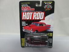 Racing Champions Hot Rod Magazine Issue #71 '50 Ford Coupe Purple/Silver
