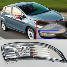 Rearview Wing Mirror Indicator Light Lens For Ford Fiesta 08-18 Right Driver RH