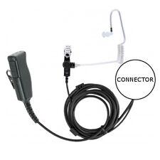 2-Wire Surveillance Headset for Motorola 2-Pin Two Way Walkie Radios