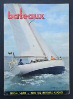 Revue magazine BATEAUX n° 68 janvier 1964 spécial salon