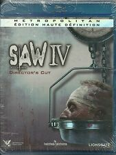 BLU RAY - SAW 4 avec SCOTT PATTERSON / HORREUR ( NEUF EMBALLE )