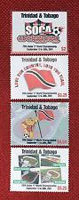 2001 Trinidad & Tobago 626-629 MNH - Sports / Stadiums / Soccer