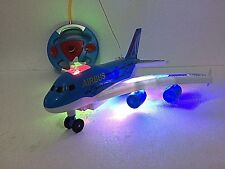 Air Bus Remote Control Airplane Flight Aeroplane Plane Electric RC Kids Toy Gift